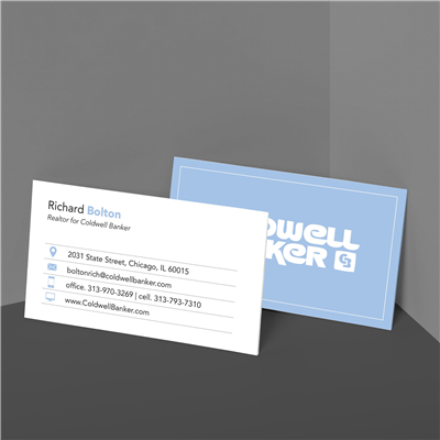 Baby Blue Icon Business Card