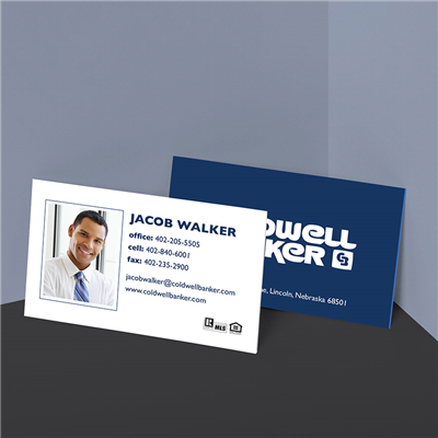Solid Logo Business Card