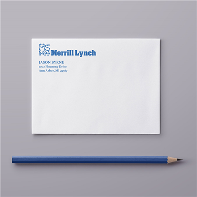 A2 Envelope - Address & Logo