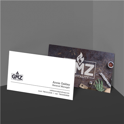 Branded Restaurant Scene Business Card