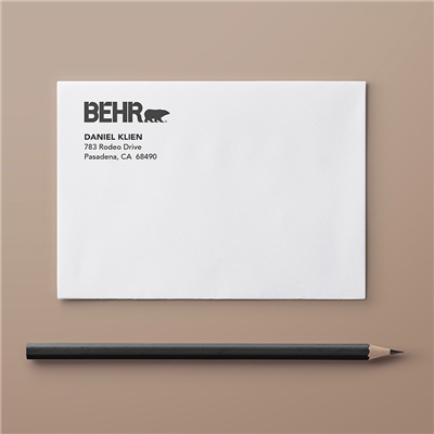 A6 Envelope - Address & Logo