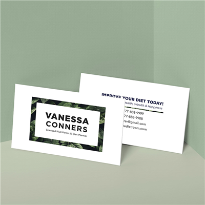 Natural Frame Business Card