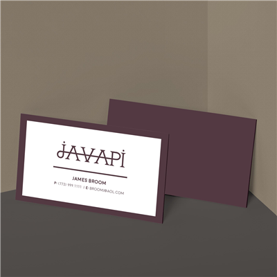Bold & Bordered Business Card
