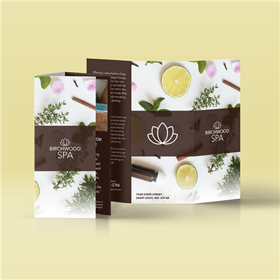 Mahogany Spa Brochure