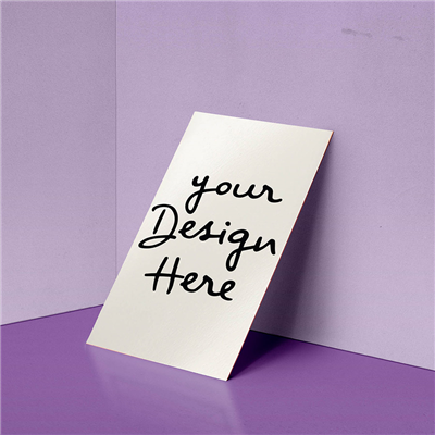 Single Sided Vertical Business Card